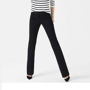 Express Editor Black Trouser Work Pant 4S